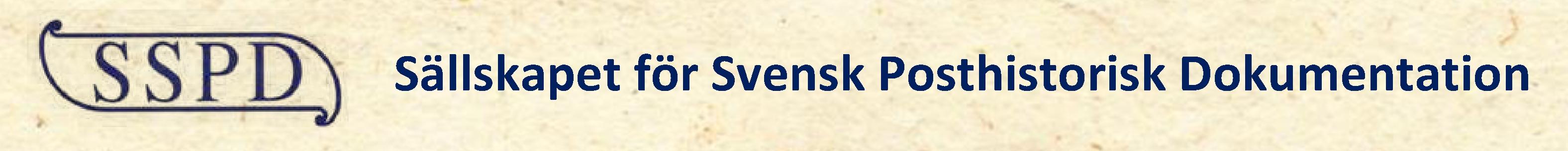 SSPD – Sällskapet för Svensk Posthistorisk Dokumentation